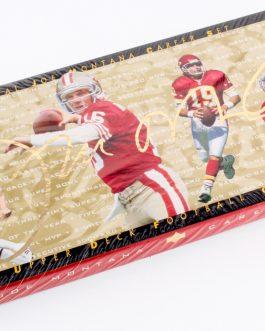 1995 Joe Montana Upper Deck Career Set Football Cards