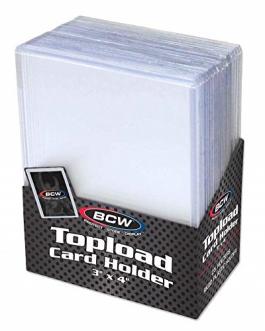 BCW 3×4 Top loader Card Holder – Regular Standard