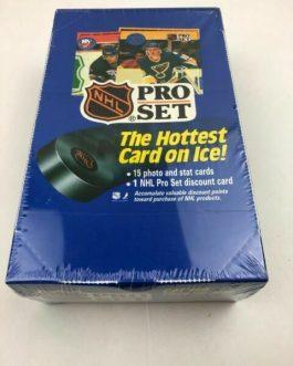 1990 / 1991 Pro Set Series 1 Hockey Hobby Wax Box
