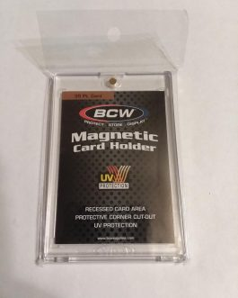BCW One Touch Magnetic Card Holder – 35 PT.