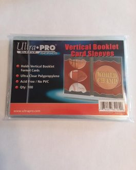 Ultra Pro Vertical Booklet Card Sleeves 100CT