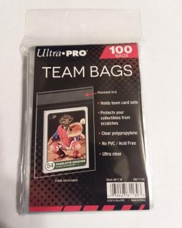 Ultra Pro Team Bags Resealable Sleeves