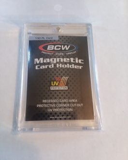 BCW One Touch Magnetic Card Holder – 130 PT.
