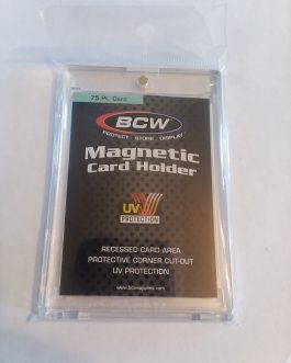 BCW One Touch Magnetic Card Holder – 75 PT.