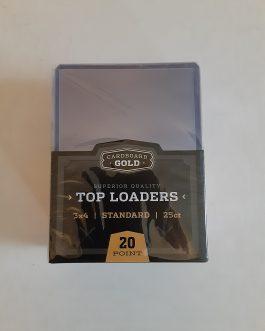 Cardboard Gold 3×4 Top loader Card Holder – Regular Standard